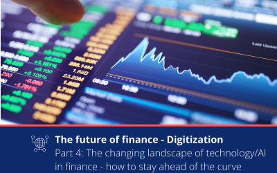 How do you stay ahead of the ever changing financial technology environment?